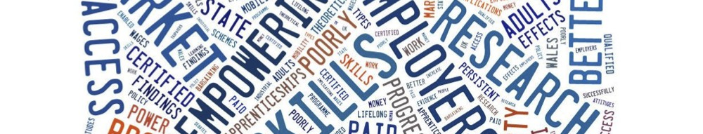Education, Skill and Empowering the Individual in the Labour Market Wordle
