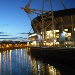Millenium Stadium at Dusk